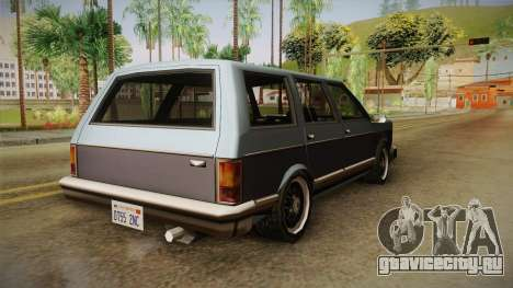Bobcat Station Wagon для GTA San Andreas вид слева