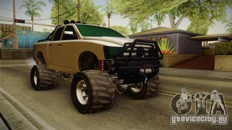GTA 5 Bison 4x4 для GTA San Andreas вид справа