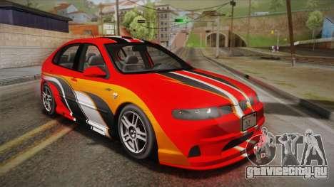 Seat León Cupra R Series I Typ 1M Tunable для GTA San Andreas