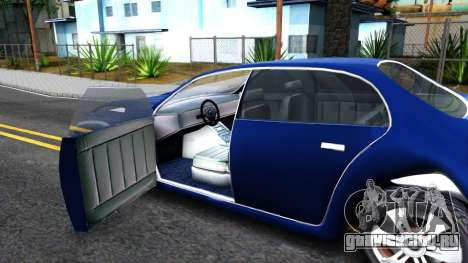 Future Washing для GTA San Andreas вид изнутри