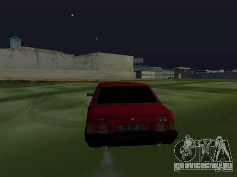 VAZ 21099 Armenian для GTA San Andreas вид сзади слева