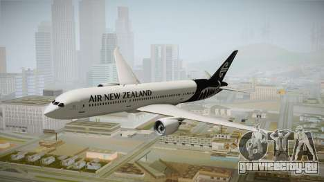 Boeing 787 Air New Zealand White Edition для GTA San Andreas