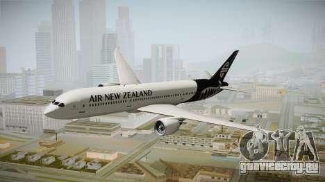 Boeing 787 Air New Zealand White Edition для GTA San Andreas