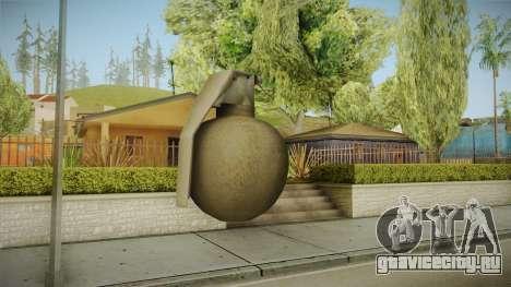 Battlefield 4 - M67 для GTA San Andreas третий скриншот