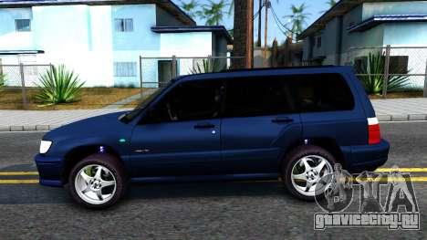 Subaru Forester для GTA San Andreas вид слева