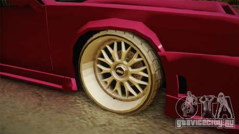 Racing Buffalo v1.0 для GTA San Andreas вид сзади
