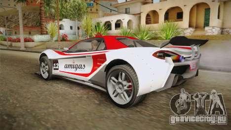 GTA 5 Progen Itali GTB Custom IVF для GTA San Andreas