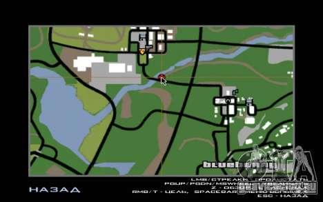 Дорожное приключение 2.0 для GTA San Andreas пятый скриншот