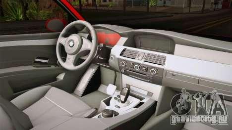 BMW 3 Series E46 CamberKinG для GTA San Andreas вид изнутри