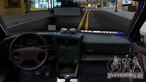 Volkswagen Passat B3 Wagon для GTA San Andreas вид изнутри