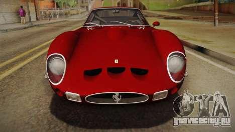 Ferrari 250 GTO (Series I) 1962 HQLM PJ1 для GTA San Andreas вид справа