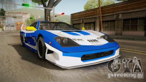 Tyrus Turismo для GTA San Andreas