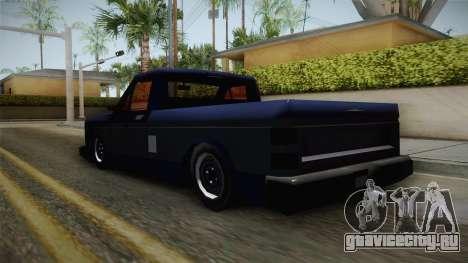 Bobcat Stance v1 для GTA San Andreas вид сзади слева