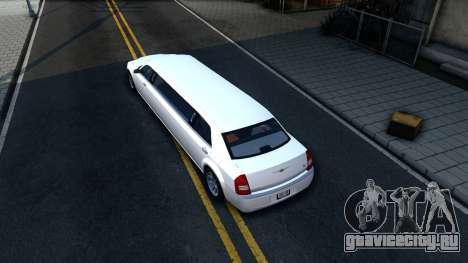 Chrysler 300C Limo 2007 IVF для GTA San Andreas вид сзади