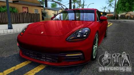 Porsche Panamera 4S 2017 v 4.0 для GTA San Andreas