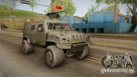 Iveco Lince LMV для GTA San Andreas