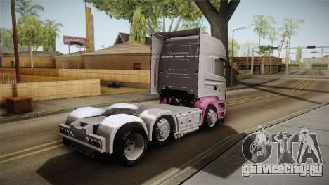 Scania R620 Eskrem Gerrok для GTA San Andreas вид слева