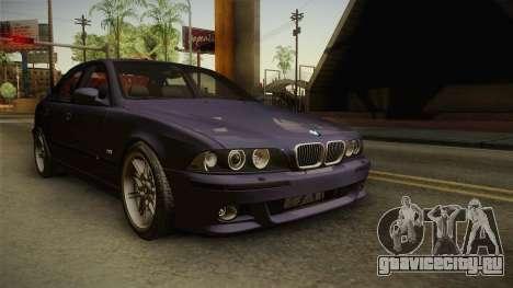 BMW M5 E39 Stock 2001 для GTA San Andreas вид справа