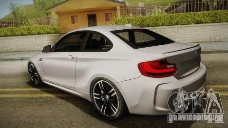 BMW M2 2017 для GTA San Andreas вид слева