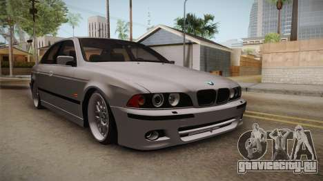 BMW 530i E39 для GTA San Andreas