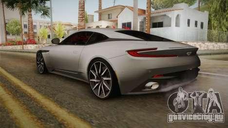 Aston Martin DB11 2017 для GTA San Andreas вид слева