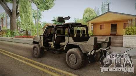 Iveco Lince Light LMV для GTA San Andreas вид слева