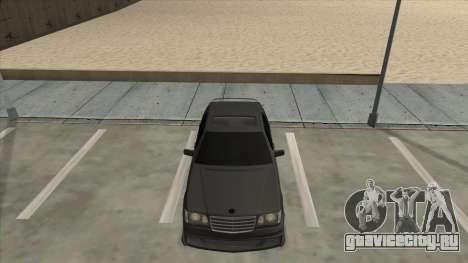 Brabus 7.3s для GTA San Andreas вид справа