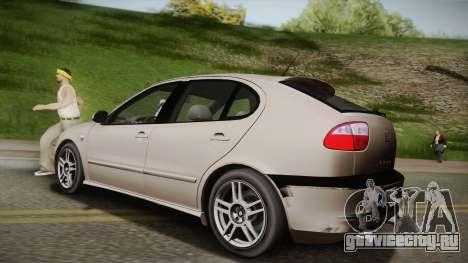 Seat León Cupra R Series I Typ 1M Tunable для GTA San Andreas вид слева