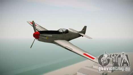 Rustler Indonesian Air Force v2 для GTA San Andreas вид сзади слева