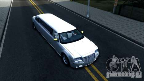 Chrysler 300C Limo 2007 IVF для GTA San Andreas вид справа