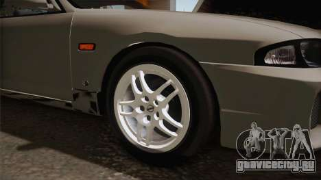 Nissan Skyline GTS25-t Mk.IX R33 Paintjob для GTA San Andreas вид сзади