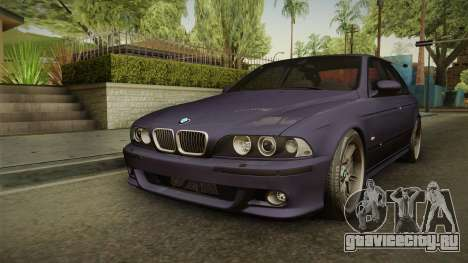 BMW M5 E39 Stock 2001 для GTA San Andreas