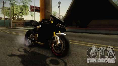 Ducati 1299 Panigale S 2016 Tricolor Black для GTA San Andreas вид сзади слева