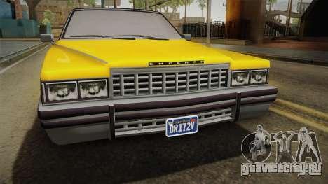 GTA 5 Albany Emperor Custom для GTA San Andreas вид справа