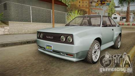 GTA 5 Obey Omnis Normal для GTA San Andreas вид справа