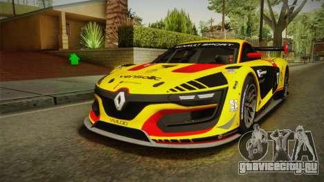 Renault Sport R.S.01 PJ3 для GTA San Andreas салон
