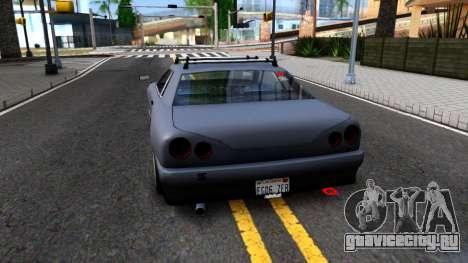 Elegy JDM для GTA San Andreas вид сзади слева