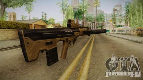 DesertTech Weapon 2 Silenced для GTA San Andreas второй скриншот