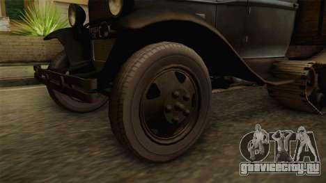 ГАЗ-65 1940 для GTA San Andreas вид сзади
