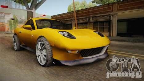 Driver: PL - MX2000 Drift Version для GTA San Andreas
