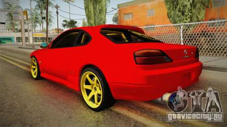 Nissan Silvia S15 Drift для GTA San Andreas вид справа