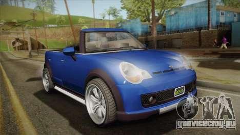 GTA 5 Weeny Issi Countryboy Cabriolet для GTA San Andreas