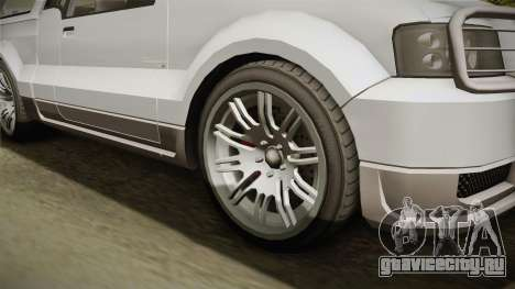 GTA 5 Vapid Contender 4 (5) для GTA San Andreas вид сзади