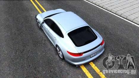 Porsche Panamera 4S 2017 v 1.0 для GTA San Andreas вид сзади