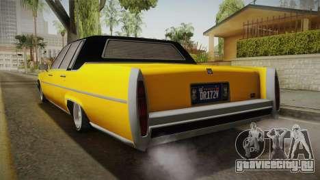 GTA 5 Albany Emperor Custom для GTA San Andreas вид слева