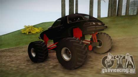 AMC Pacer Monster Truck для GTA San Andreas вид сзади слева