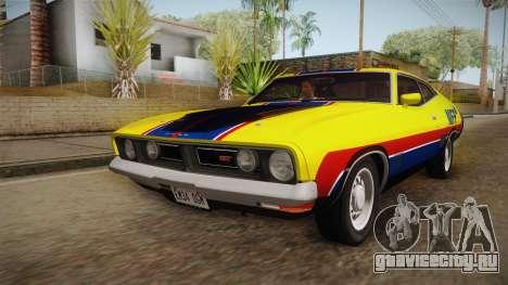 Ford Falcon 351 GT AU-spec (XB) 1973 HQLM для GTA San Andreas вид снизу