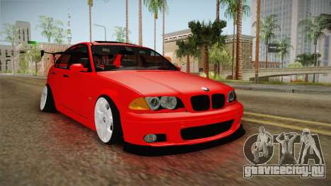 BMW 3 Series E46 CamberKinG для GTA San Andreas
