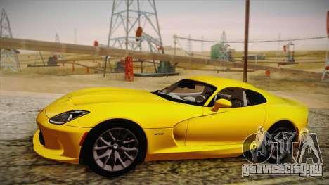 Dodge Viper SRT 2013 для GTA San Andreas