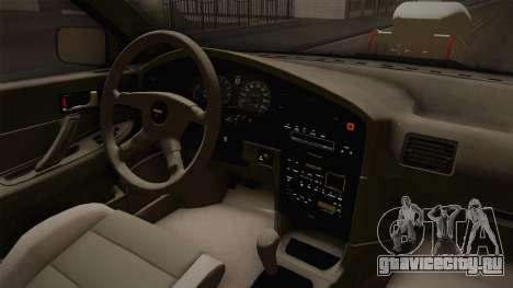 Subaru Legacy 1992 Monster Truck для GTA San Andreas вид изнутри